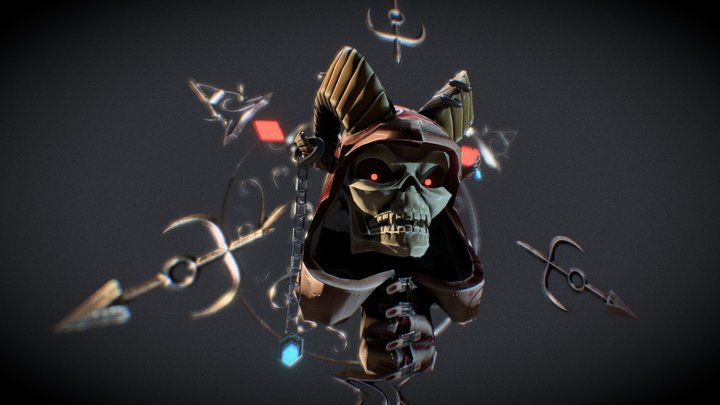 DevilSkull_LP 3D Model