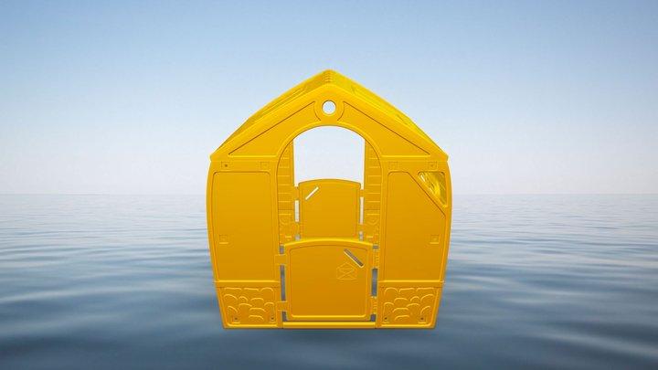 happy house test 1 3D Model
