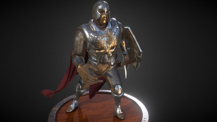 Castle Guard 3D Model