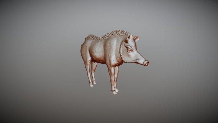 Jabalí Río Tinto 3D Model
