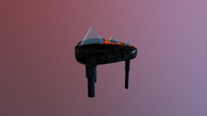 Sky Pebble Competition Piece 3D Model