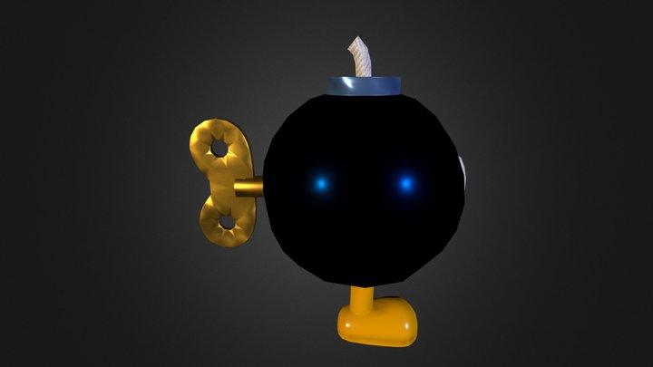 Bob-omb Enemy 3D Model