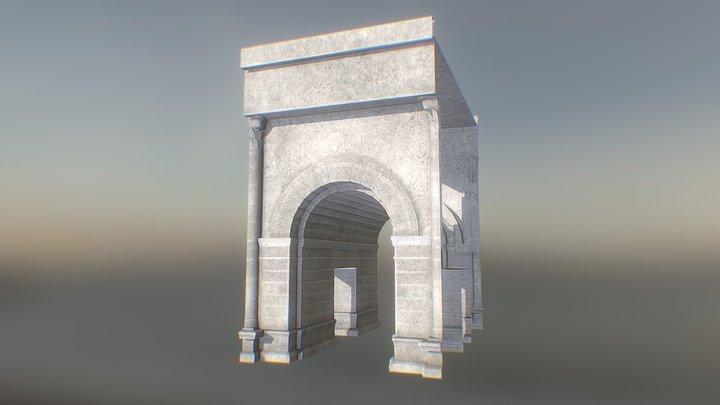 Arche_Thêatre 3D Model