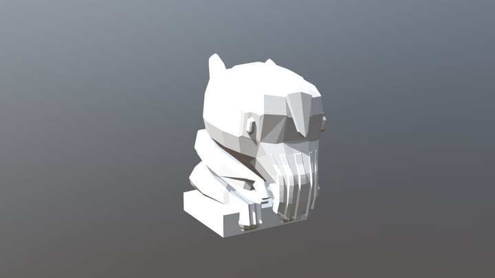 Cuth1 3D Model