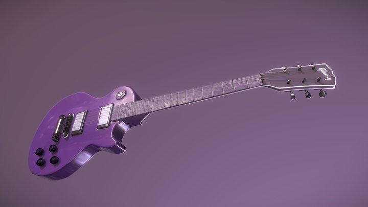 Gibson Guitar for #GuitarTexturingChallenge 3D Model