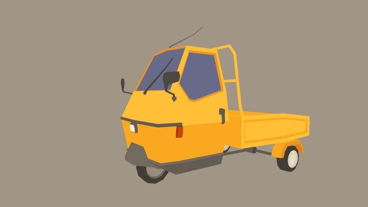 Tuk-Tuk 3D Model