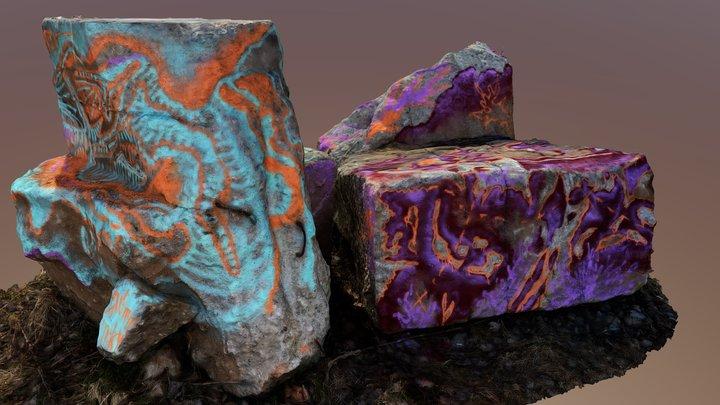 лесной алтарь 3D Model