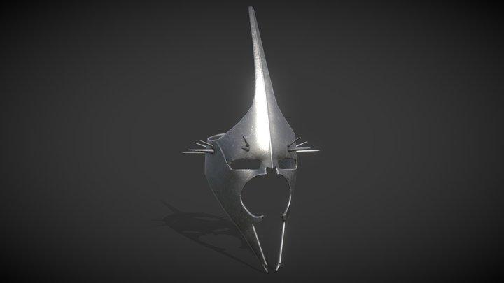 The Witch King of Angmar's Helmet - LOTR Fan art 3D Model