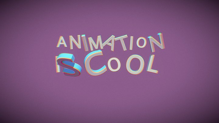 Animation Is Cool 10 test 3D Model