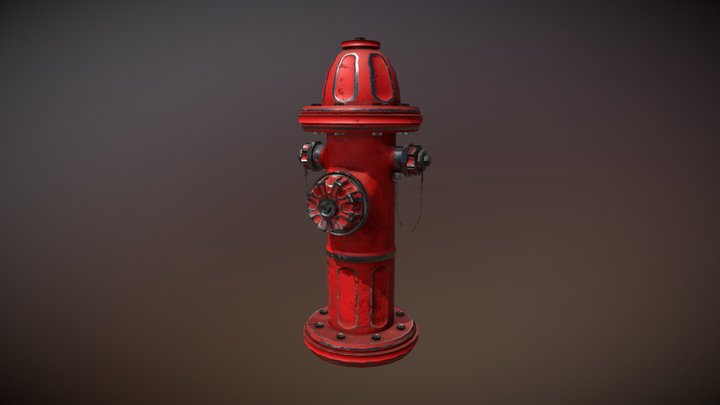 Fire Hydrant 3D Model