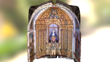 Bóveda de nervadura 3D Model