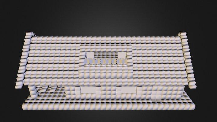 maison hovercraft 3D Model
