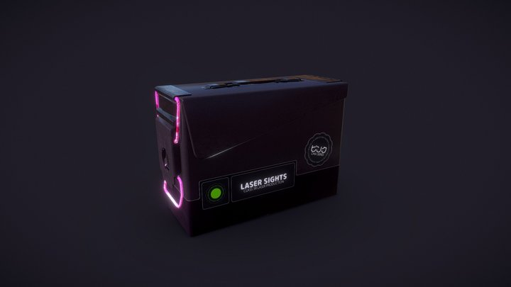 Laser Sights ○✿○ Chia ○✿○ (Single Pack) 3D Model