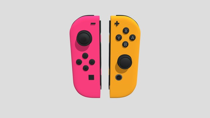 Nintendo Switch Joy-Cons 3D Model