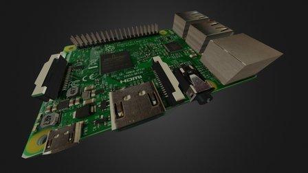 Raspberry Pi 3 3D Model
