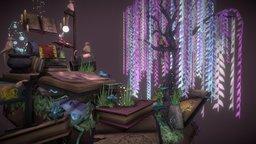 Book Island 3D Model
