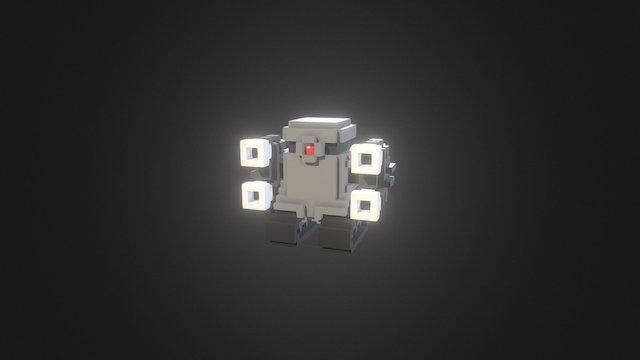 TankBot 3D Model