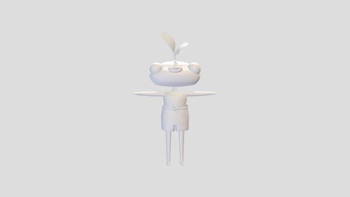 Folder 1 - Fantasy Character 3D Model