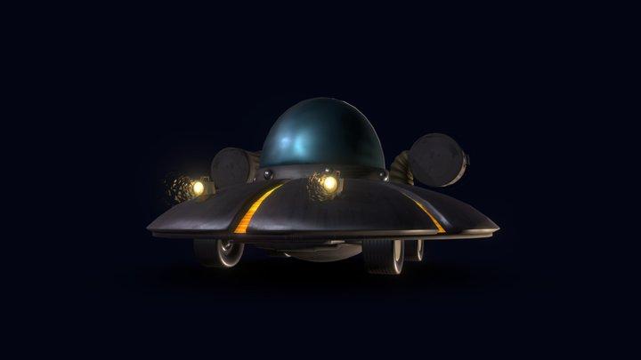 Rick & Morty | Ship 3D Model