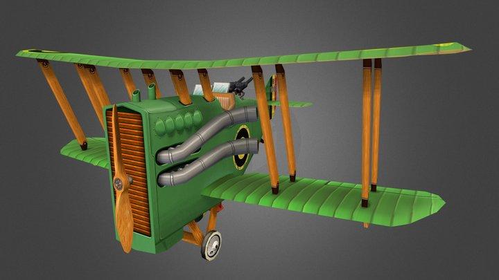 The Flying Circus - DH.9A Ninak 3D Model