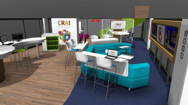 CRAI Nivel 1 / Sede Claustro 3D Model