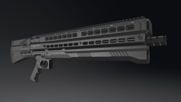 UTS 15 3D Model