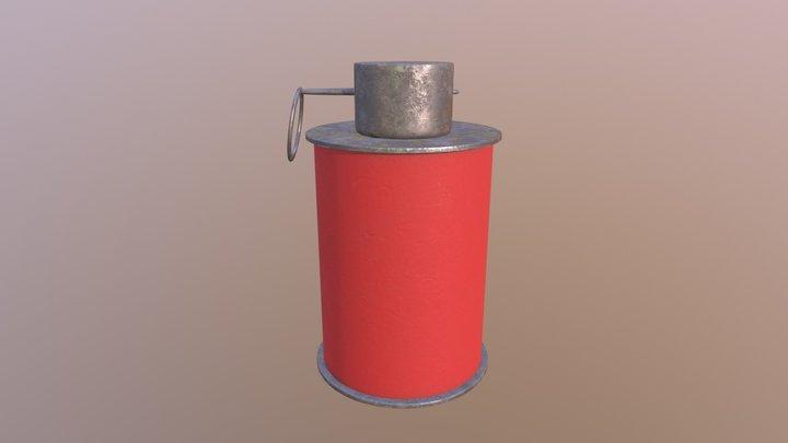 Grenade - Med Res 3D Model