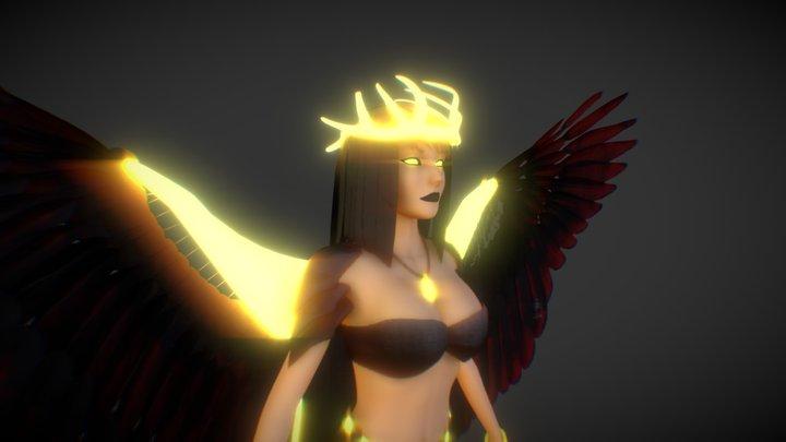 Kida - The Fallen Angel 3D Model