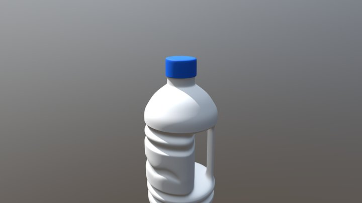 Plastic container 3D Model