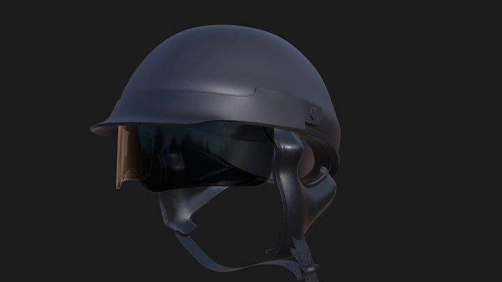 Highpoly Helmet - Harley-Davidson / Lucid Ultra 3D Model