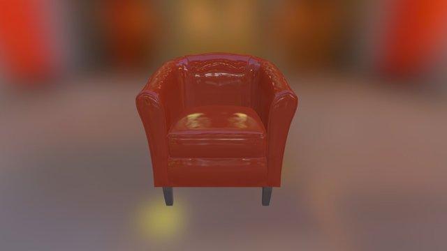 Club Chair Test 3D Model