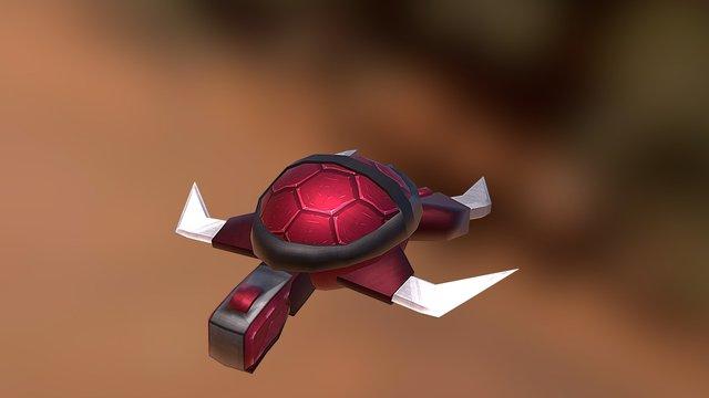 Iron Turtle 3D Model