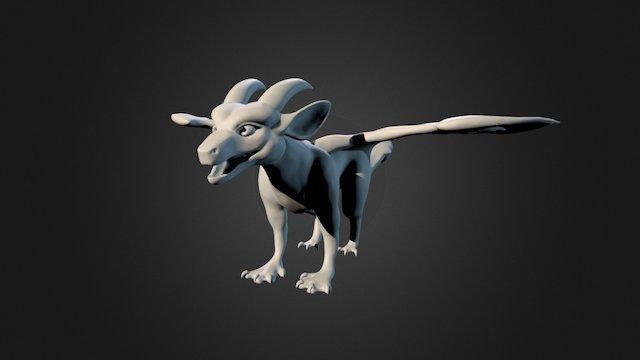 [SKETCH] Acida Dragon 1 3D Model
