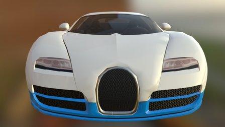 Ultra Car Sport - Bugatti Veyron 3D Model