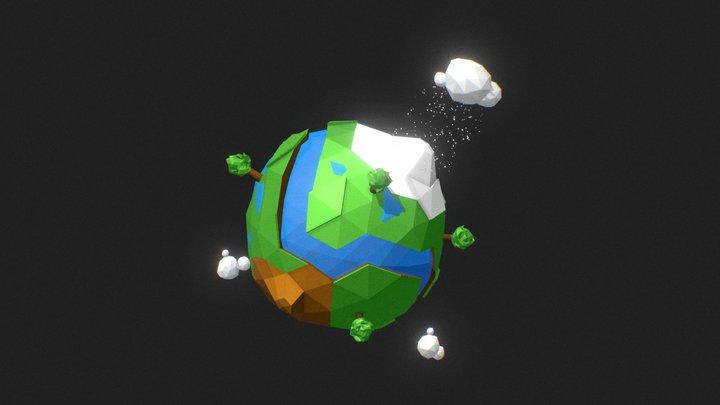 Земля (Earth) 3D Model