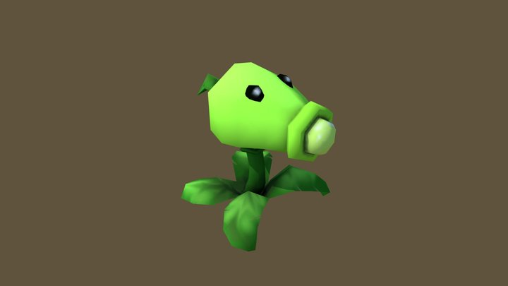 Pea Shooter - Household Props Challenge (warmup) 3D Model