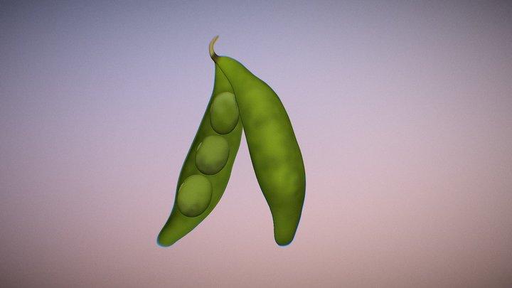 Soybean 3D Model