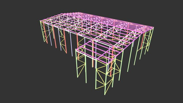 Холодный склад 3D Model