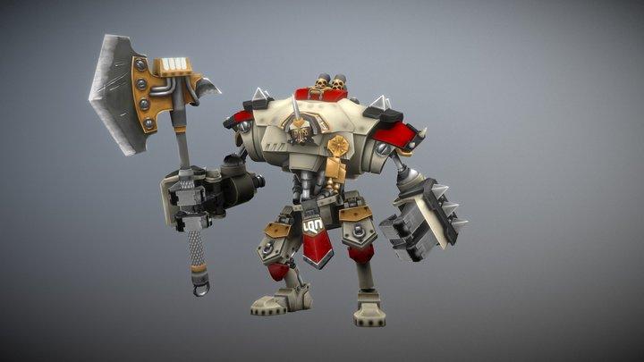 Beast 09 3D Model