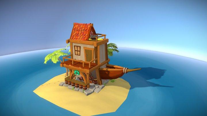 Pirate Bar 3D Model