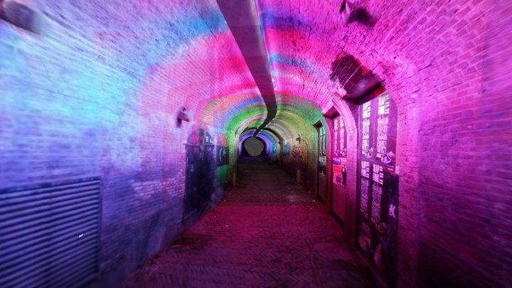Tunnel of Lights 3D Model