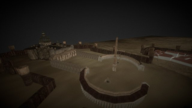Roma - Rome - Games of Thrones Italy 3D Model