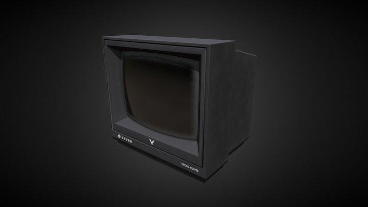 TV - Old Asset 3D Model