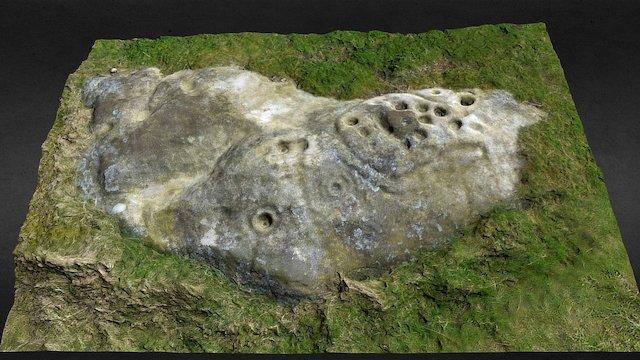 Lordenshaws Horseshoe Rock 3D Model