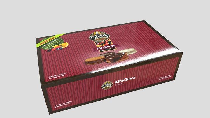 Caja de Alfajores 3D Model