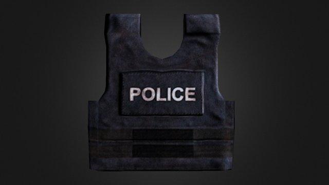 Police Vest 3D Model