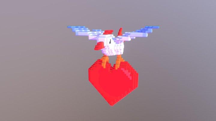 Heart Carrier 3D Model