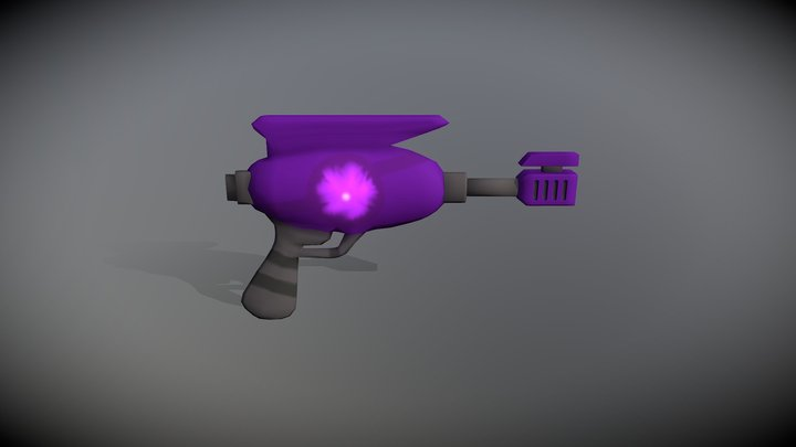Arma Laser (Game Asset) 3D Model