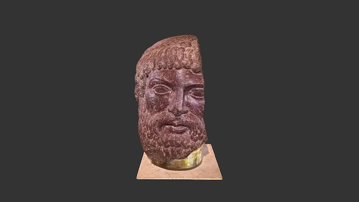 Head of Zeus or Poseidon 3D Model