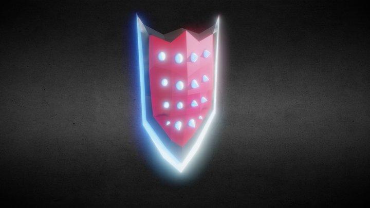 Blood Knight Shield 3D Model